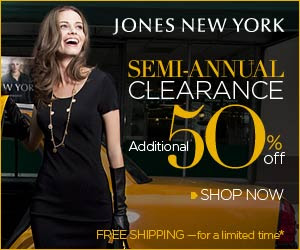 Jones New York Sale - Extra 50% Off Sale Items