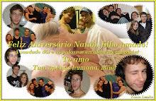 Comemoração do aniversário de meu filhote Natan.