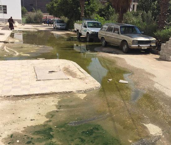 مياه-الصرف-الصحى-تغطى-كابلات-الكهرباء-الموصلة-بغرف-عمليات-مستشفى-بأسيوط-(2)