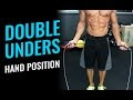 How To Do Jump Rope Double Unders