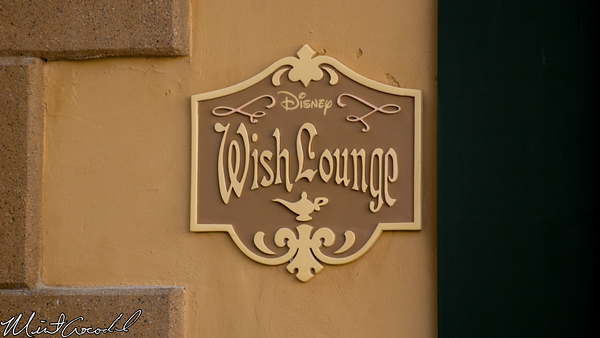 Disneyland Resort, Disneyland, Main Street U.S.A., First Aid, Wish Lounge, Corridor