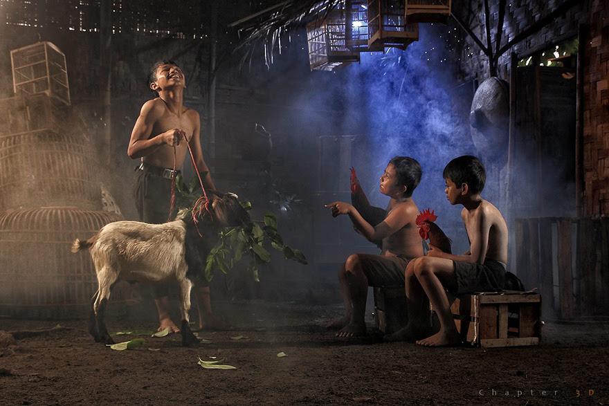 Foto Kehidupan Sehari-hari di Pedesaan 17