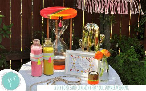 DIY Ideas for a Budget Friendly Sand Ceremony   Fern and Maple