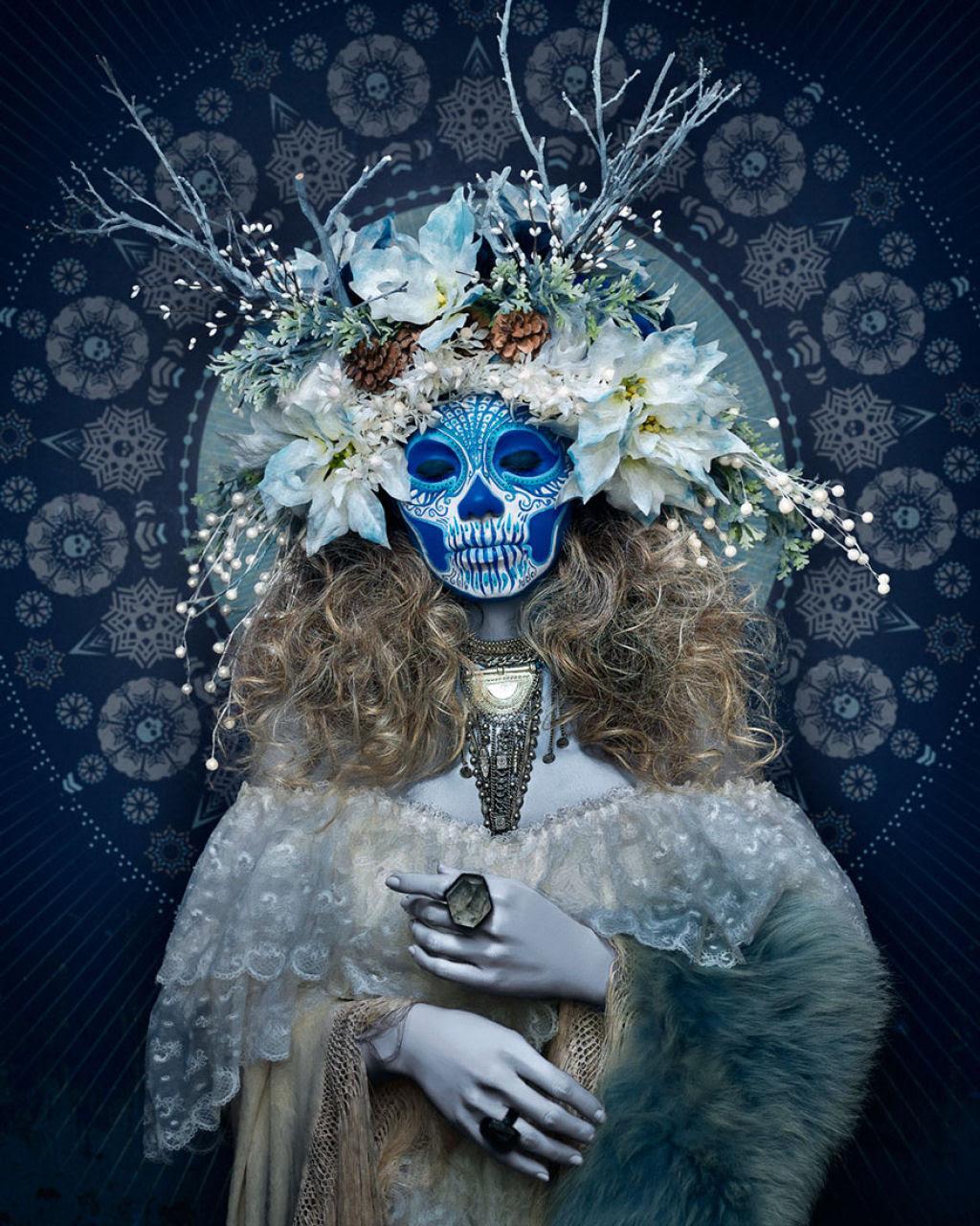As Mortas: Belezas mortais posam em um colorido tributo ao Dia dos Mortos 06