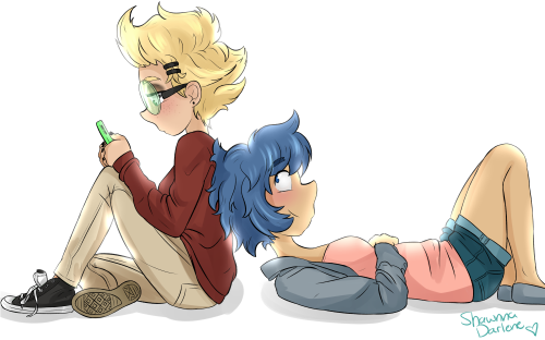 I'm obsessed with @dement09 's human AU???