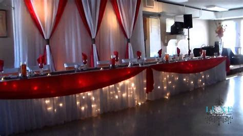 2013 Orange, White, Brown and Red Wedding Decor by LUXE