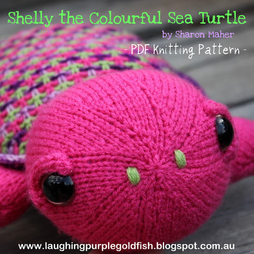 Shelly the Colourful Sea Turtle