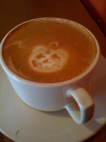 """""""Pumpkin"""" latte"""