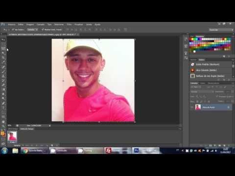 Como cortar foto com Photo Shop cs6