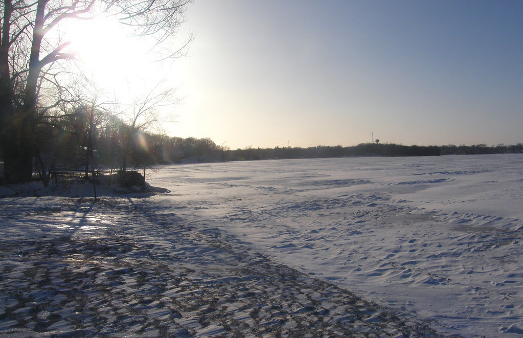 Gideon's Bay  (at 8 degrees  below fahrenheit)