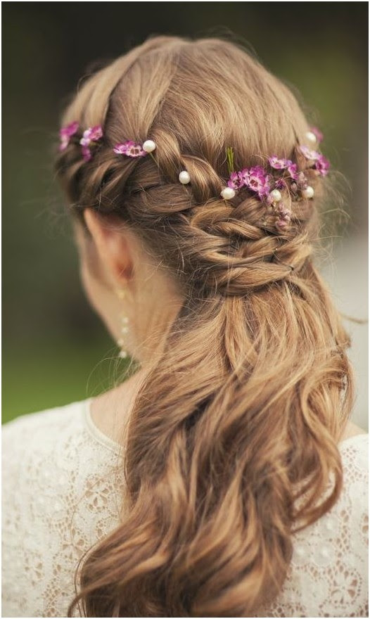 11 Easy and Quick Half Up Braid  Hairstyles  Pretty Designs