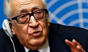 Lakhdar Brahimi, UN-Arab League envoy for Syria,