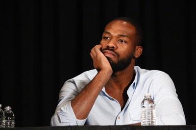 Jon Jones entrevista coletiva UFC Las Vegas MMA (Foto: Evelyn Rodrigues)