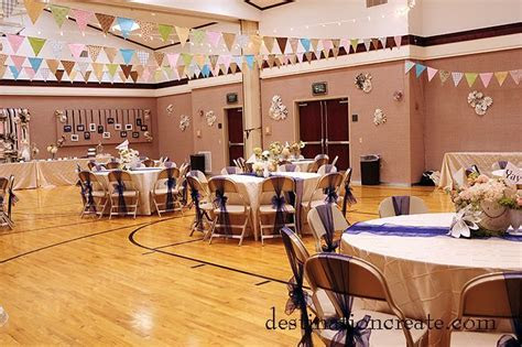 LDS Cultural Hall Reception: Rustic/Chic   Receptions, LDS