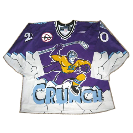 Syracuse Crunch jersey