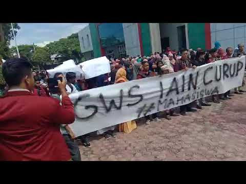 Hari Anti Korupsi Sedunia, Mahasiswa Demo IAIN Curup