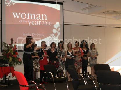 Announcing the Finalists with Rebecca Wheatly Woman Of the Year 2010