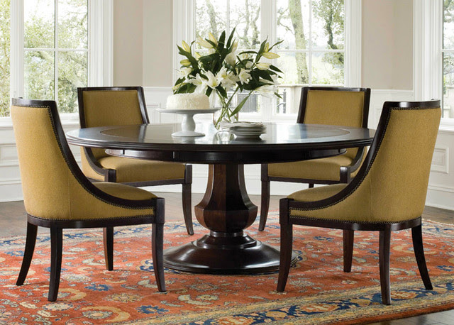 Sienna Dining Table - Traditional - Dining Tables - by Brownstone ...