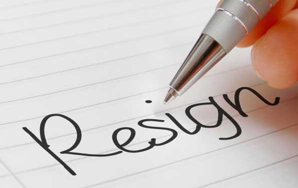 surat pengunduran diri karyawan kontrak
