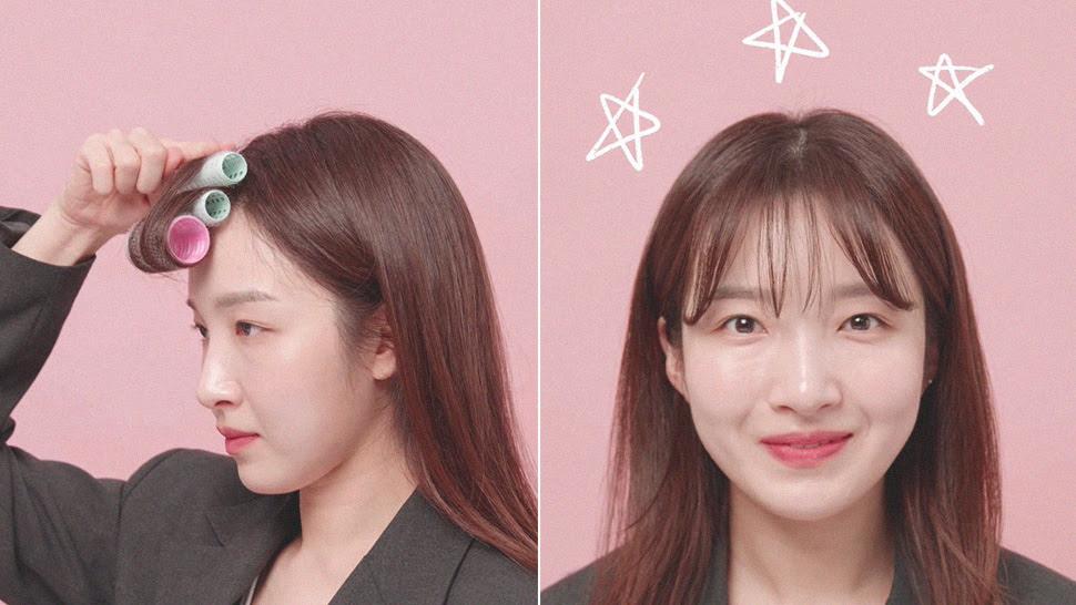 How To Achieve Korean Style Bangs
