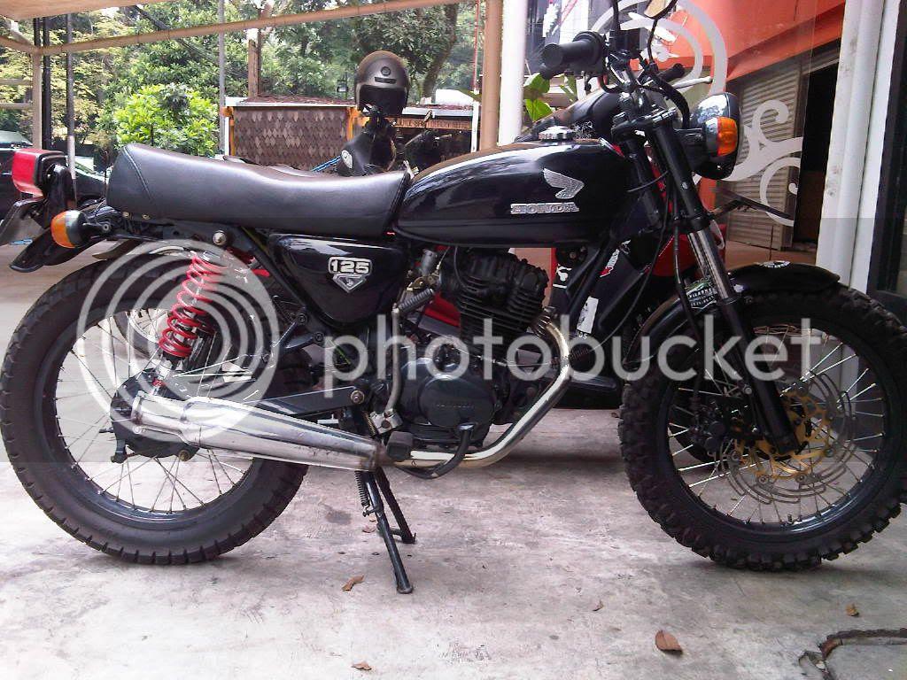 Koleksi 70 Modifikasi Motor Cb Bandung Terkeren Fire Modif