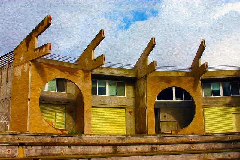 """Arcosanti Living Quarters"""