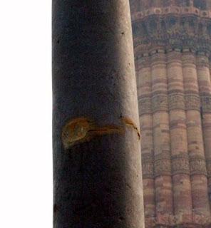 Rusty Iron pillar, Qutub Minar