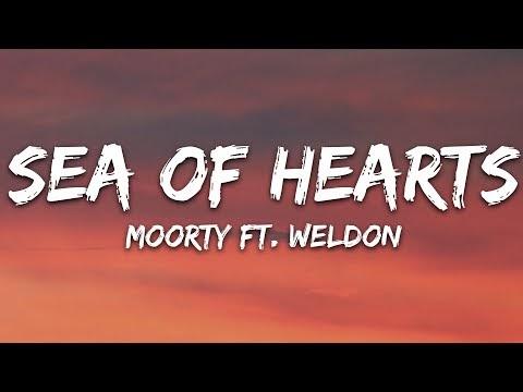 Moorty - Sea Of Hearts (Lyrics) feat. Weldon [7clouds Release]