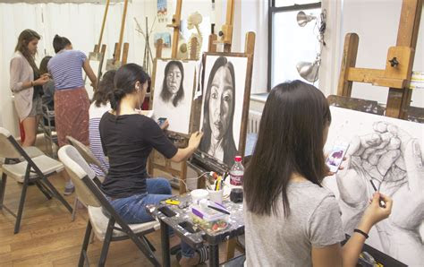 portfolio prep class  major art schools arcracrylic