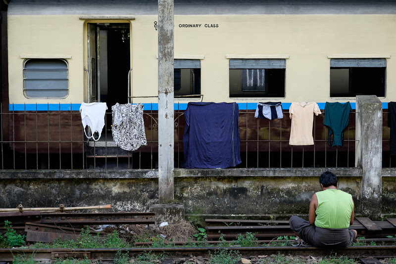 Ordinary class, Circular train, Yangon