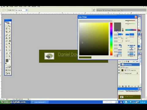 Creating A Website Banner In Photoshop