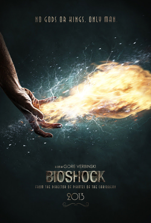 Bioshock Move Poster Mockup byChristoffer Ekstrom