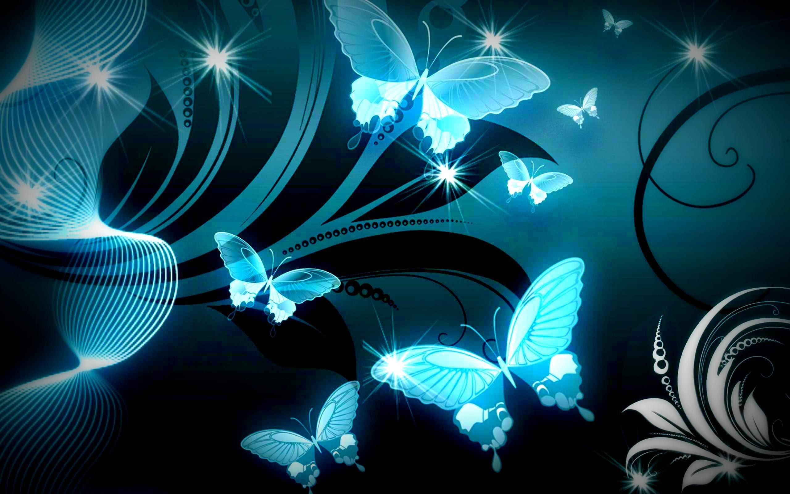 Awesome Black Wallpaper Butterfly Free