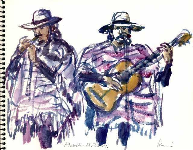 Peruvian band-2