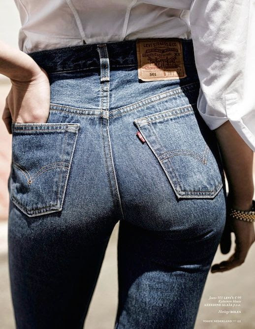 26 Le Fashion Blog Shots That Prove Levis Make Your Butt Look Amazing Good High Waisted Jeans Vogue Netherlands