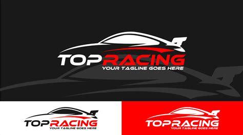 top racing logo template logos graphics