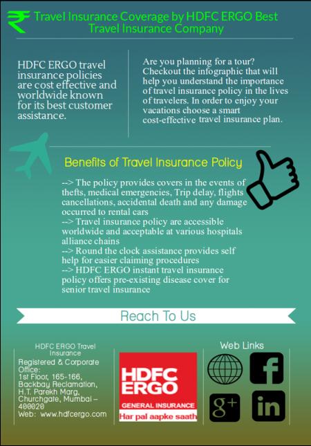 HDFC ERGO General Insurance - HDFC ERGO Travel Insurance