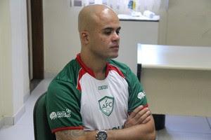 Ruy Cabeção, jogador do Alecrim (Foto: Gabriel Peres/Divulgação)