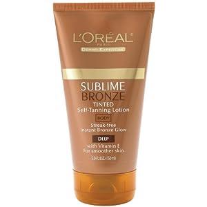 L'Oreal Sublime Bronze Self-Tanning Lotion 5 fl oz (150 ml)