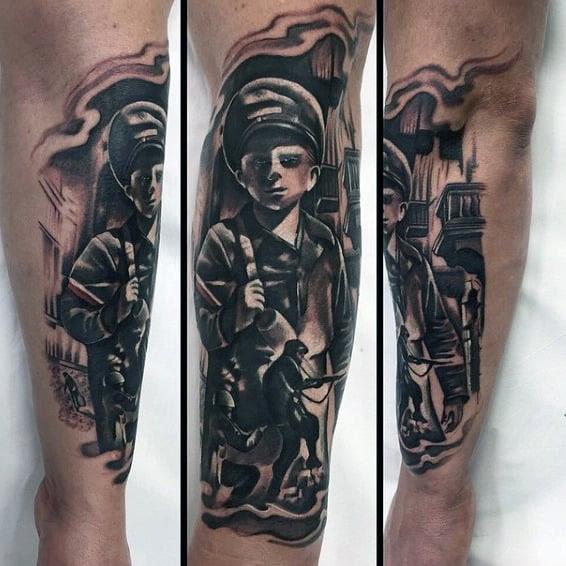 100 Military Tattoos For Men Memorial War Solider Designs