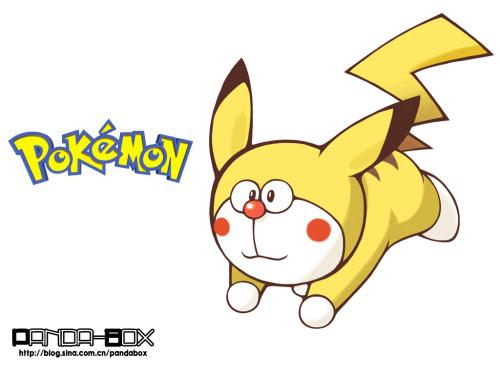doraemon - pokemon - pikachu