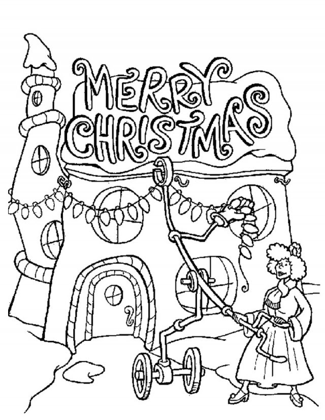 The Grinch Coloring Pages  AZ Coloring Pages