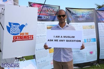 Bermuda: Ahmadiyya Muslim Open Air Exhibition