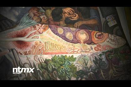 Mural De Diego Rivera Con Cantinflas