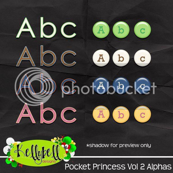 Kellybell Designs Pocket Princess Vol 2 Alphas