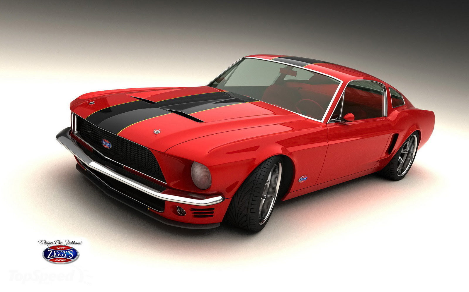 Cars In The End: Detailed Classic Mustang tuned