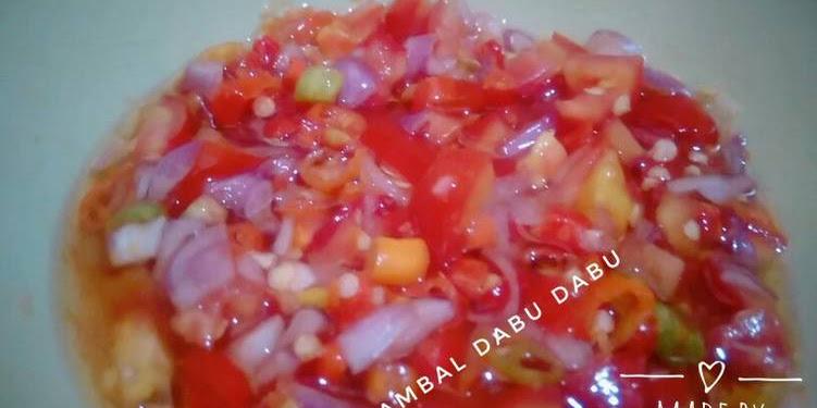 Resep Sambal Dabu Dabu Oleh Moms_cristien