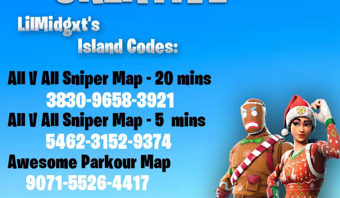 best parkour map codes fortnite