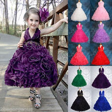 girls party dresses age