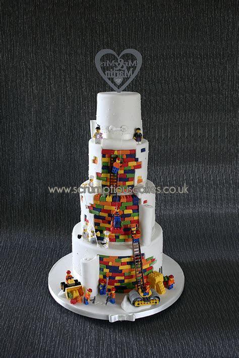 Lego Wedding Cake   CakeCentral.com